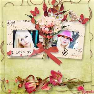 Montage photo bouquet d'automne