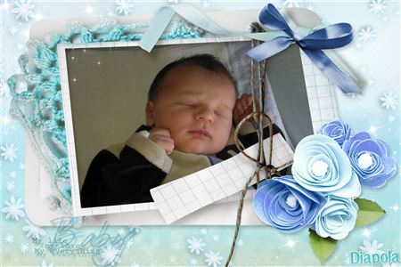 montage photo naissance baby boy avec diapola. Black Bedroom Furniture Sets. Home Design Ideas