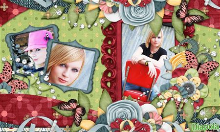 Montage photo patchwork p le m le avec diapola for Pele mele photo en ligne
