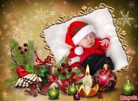 Très Montage photo Cadre Noël avec Diapola XI13