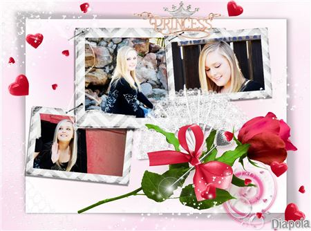 Montage photo Princess